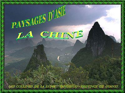Paysages d'Asie – La Chine