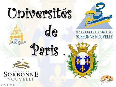 Universités de Paris