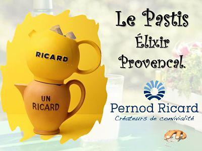 Elixir Provençal : est nominé, le Pastis…