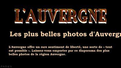 L'Auvergne – Les plus belles photos d'Auvergne