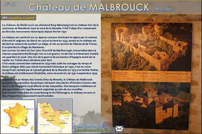 Château de Malbrouck (Moselle)