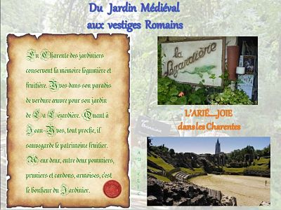 Du Jardin Médiéval aux Vestiges Romains Charentais – Le jardin de la Lézardière