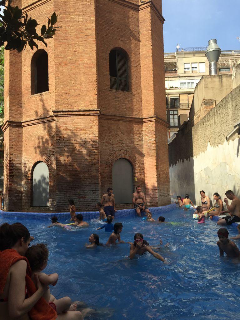 Les meilleures piscines d'été de Barcelone