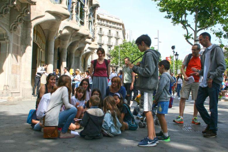 Découvrir Barcelone en famille avec BarcelonaWink