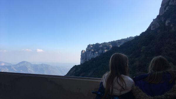 Escapade à Montserrat en famille.