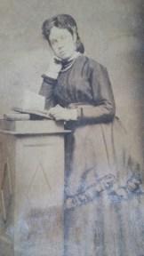 Josephine Zaleski, fille de Bohdan et épouse du docteur Alexandre Okinczyc