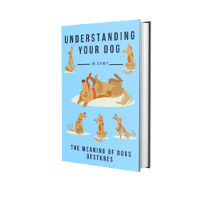 M Samy book about dog gestures and behavior