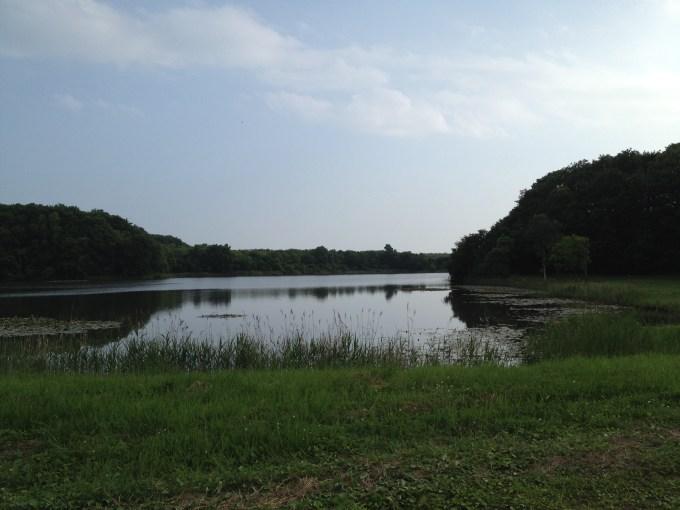 厚真町 大沼野営場の景色