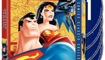 Justice League season 1 - Superman, Batman, Wonder Woman
