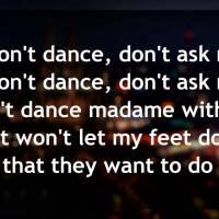 I Won't Dance lyrics