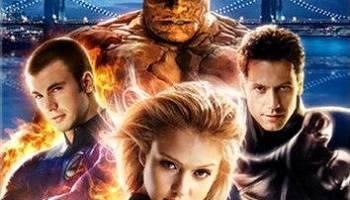 the Fantastic Four movie, starring Ioan Gruffudd, Jessica Alba, Michael Chiklis, Chris Evans, Julian McMahon