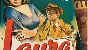 Laura (1944) starring Gene Tierney, Dana Andrews, Clifton Webb, Vincent Price