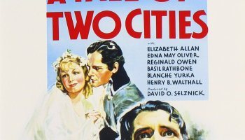 A Tale of Two Cities, starring Ronald Coleman, Elizabeth Allan, Donald Woods, Edna May Oliver, Reginald Owen, Blanche Yurka, Basil Rathbone