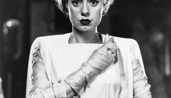 Elsa Lanchester as the titular Bride of Frankenstein
