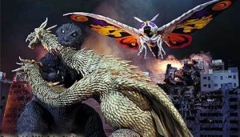 Godzilla, Mothra, King Ghidorah battle in Giant Monsters All-Out Attack