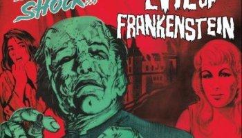The Evil of Frankenstein, starring Peter Cushing