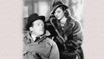 The Young in Heart (1941) starringJanet Gaynor, Douglas Fairbanks Jr., Roland Young, Billie Burke, Paulette Goddard