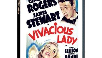 Vivacious Lady, starring Jimmy Stewart, Ginger Rogers,Charles Coburn,Beulah Bondi