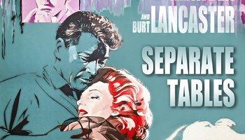 Separate Tables (1958) starringRita Hayworth, Deborah Kerr, David Niven, Burt Lancaster, Wendy Hiller