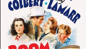 Boom Town, starringClark Gable,Spencer Tracy,Claudette Colbert,Hedy Lamarr,Frank Morgan,Chill Wills