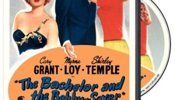 The Bachelor and the Bobby-Soxer, starring Cary Grant, Myrna Loy, Shirley Temple