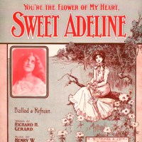 Sweet Adeline - song lyrics