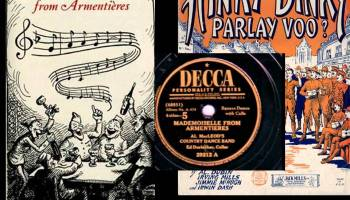 Hinky dinky Parley voo song lyrics, aka. Mademoiselle from Armetieres