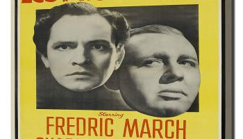 Les Miserables (1935) starring Frederic March, Charles Laughton