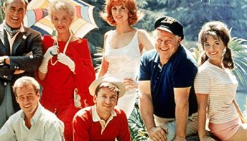 Color poster of the cast of Gilligan's Island
