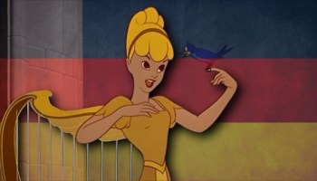Song lyrics to My, What a Happy Day (1947) Written by Bill Walsh and Ray Noble, Performed by Anita Gordon as the Singing Harp in Walt Disney's Fun and Fancy Free