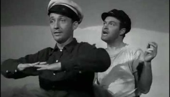 Song lyrics to We're Off on the Road to Morocco (1942) Written by Jimmy Van Heusen, Lyrics by Johnny Burke, Performed by Bing Crosby and Bob Hope in Road to Morocco