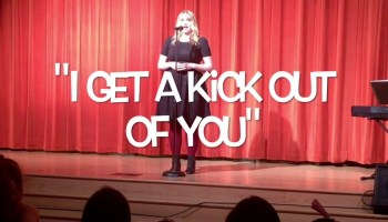 Song lyrics to I Get A Kick Out Of You, Written by Cole Porter, Performed by Zizi Jeanmaire in Anything Goes