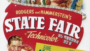 Rogers and Hammerstein's Stage Fair, starring Jeanne Crain, Dana Andrews, Dick Haymes, Vivian Blaine
