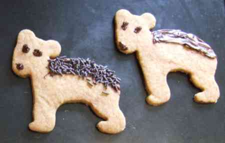 Bear biscuits
