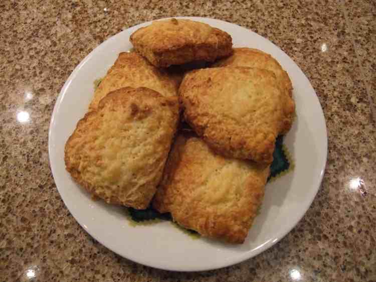 polenta and cheese scones