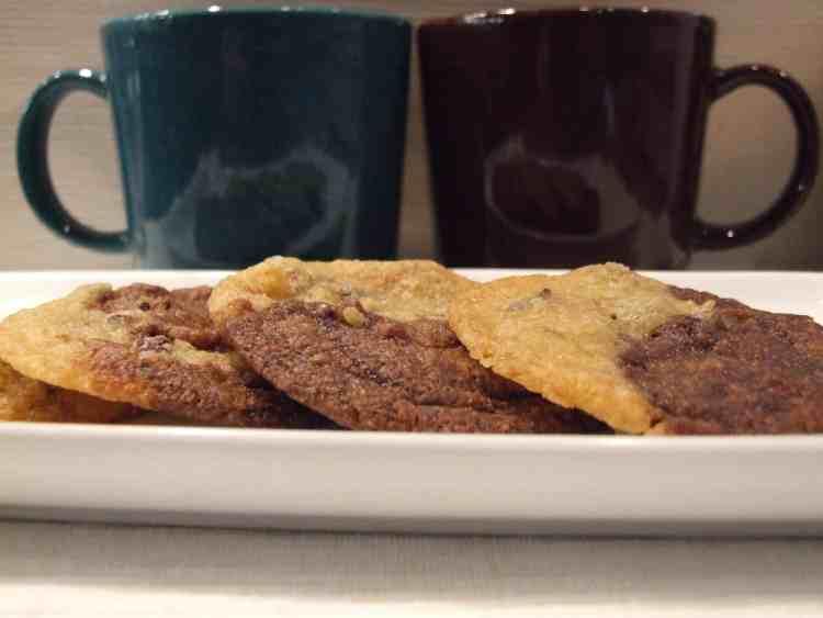 Cocoa nib cookies
