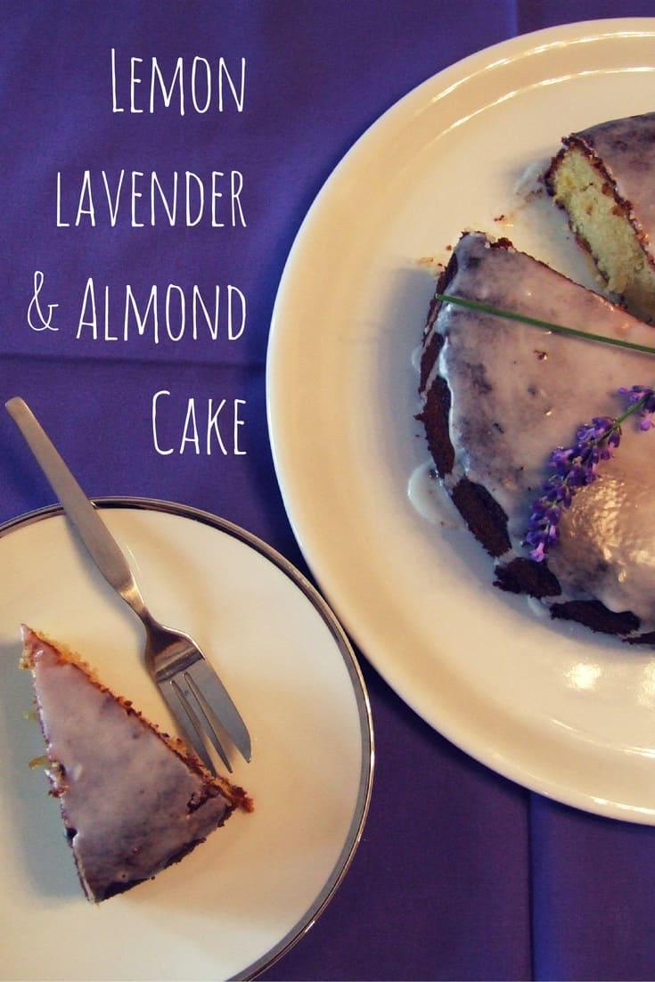 lemon & lavender cake