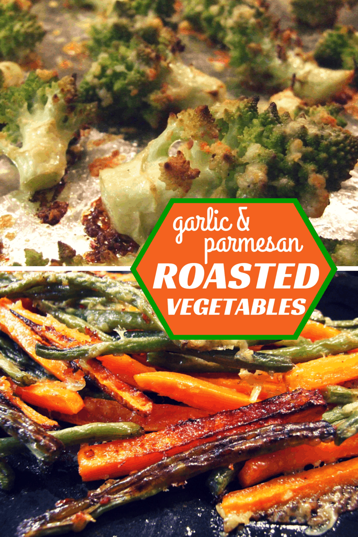 Absurdly easy, and they taste incredible! These garlic & parmesan roasted vegetables will quickly become a dinnertime favourite. Tasty, crispy & gorgeous.
