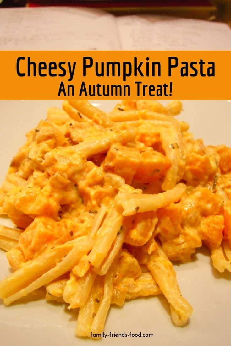 Quick & easy, cheesy autumn pasta! Use pumpkin or butternut squash to make a delicious vegetarian family dinner. They'll be queuing up for seconds.