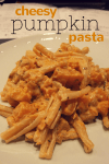 cheesy pumpkin (or butternut squash) pasta