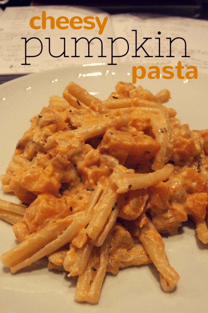 cheesy pumpkin (or butternut squash) pasta