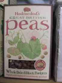 box of badger peas