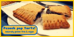 Pesach pop tarts - grain-free, egg-free, refined-sugar-free, vegan