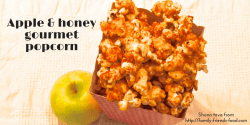 apple & honey gourmet popcorn