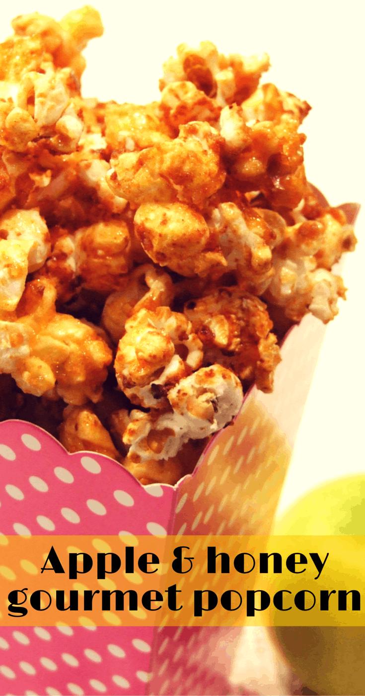 apple and honey gourmet popcorn