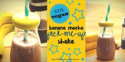 banana mocha pick-me-up shake