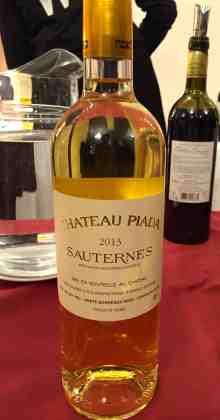 Chateau Piada 2013 Sauternes