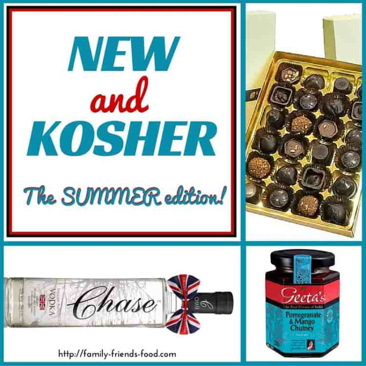new and kosher - Summer edition! New kosher products hitting the UK's shelves, including chocolate, more chocolate, gin, vegan caviar & chutney! Plus a review of Wingz sleeves.