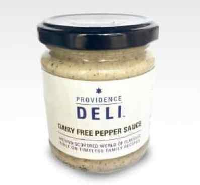 Providence Deli black pepper sauce