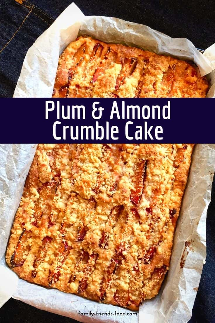 Served warm with custard or cold with a cuppa, this gorgeously fruity crumble cake is both versatile and scrumptious! A perfect weekend bake for the family.